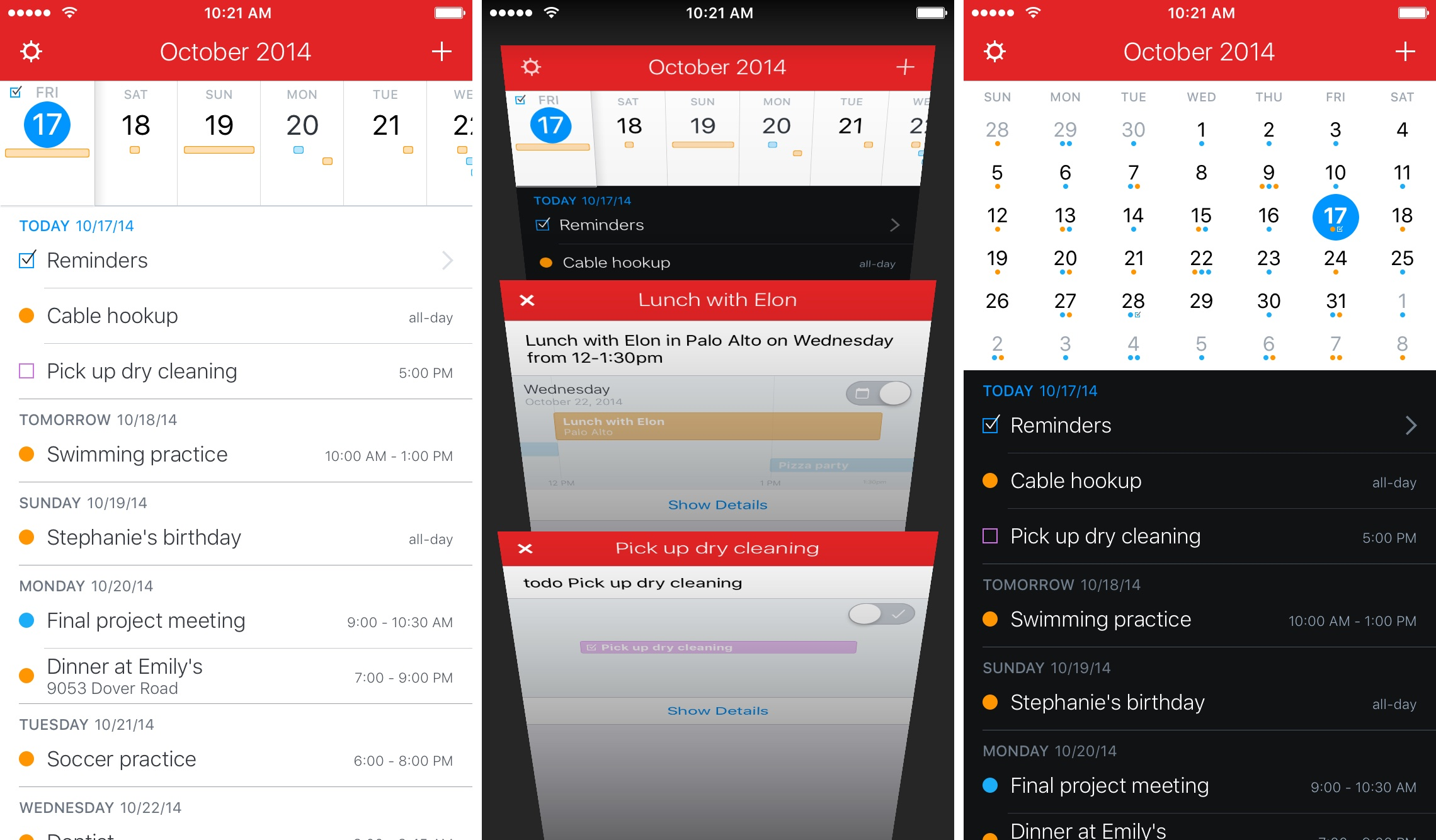 Fantastical 2.5 for iOS Search iPhone screenshot 008