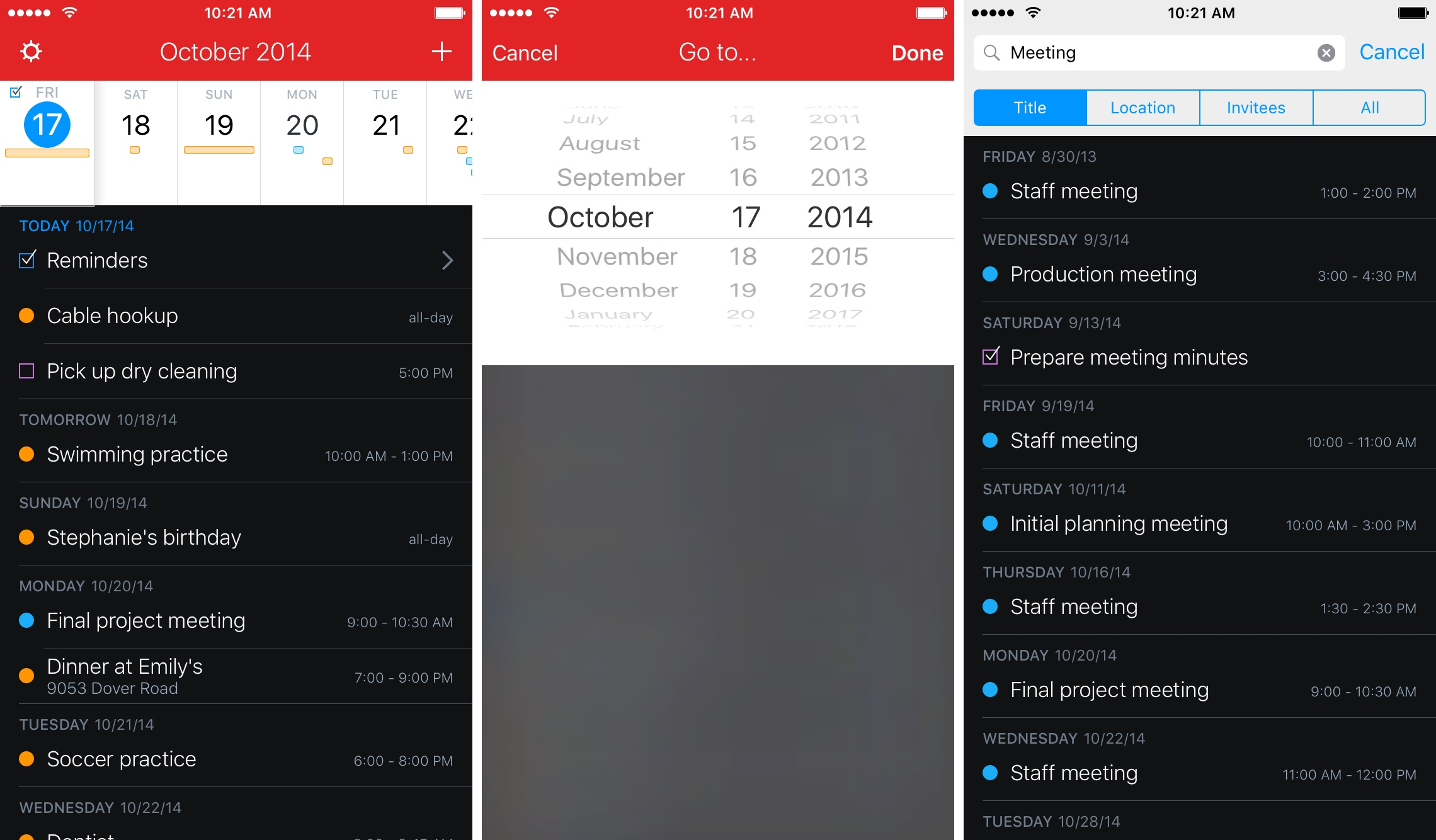 Fantastical 2.5 for iOS Search iPhone screenshot 009