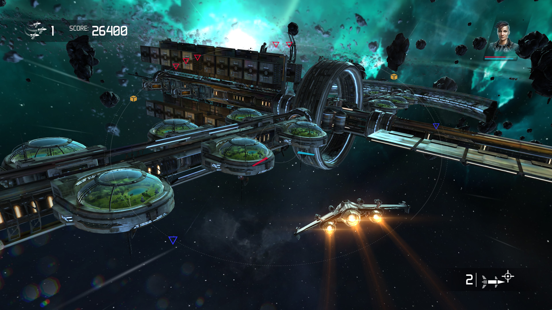 Galaxy on Fire Manticore Rising Apple TV screenshot 001