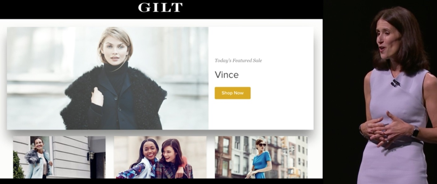 Gilt for Apple TV teaser 001