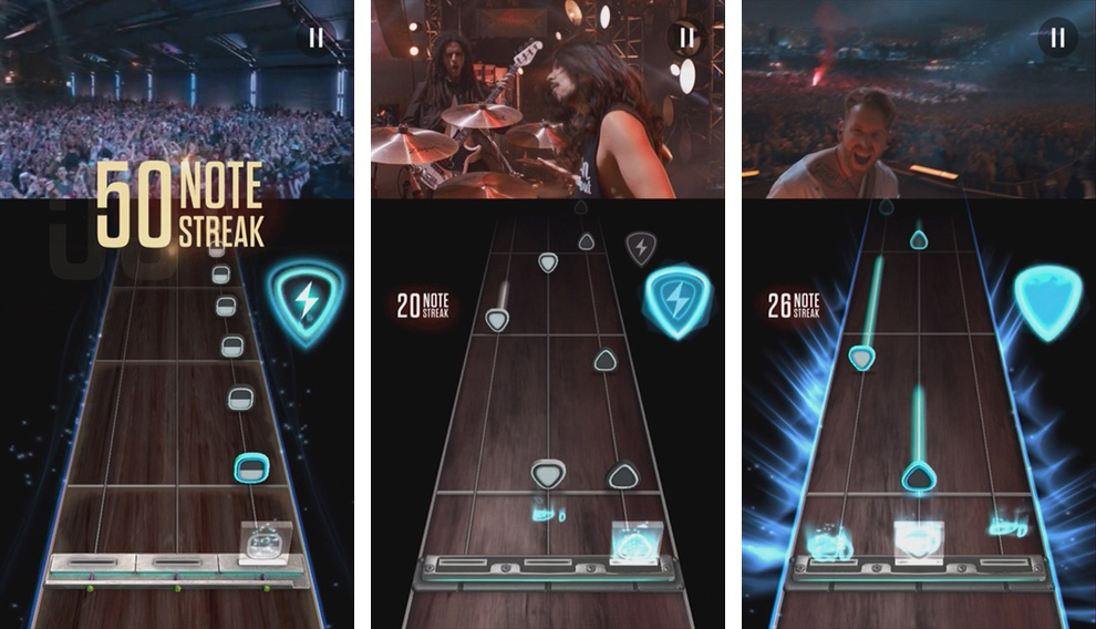 Guitar Hero Live iPhone screenshot 001