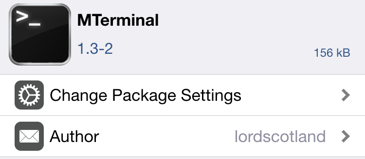 MTerminal Package