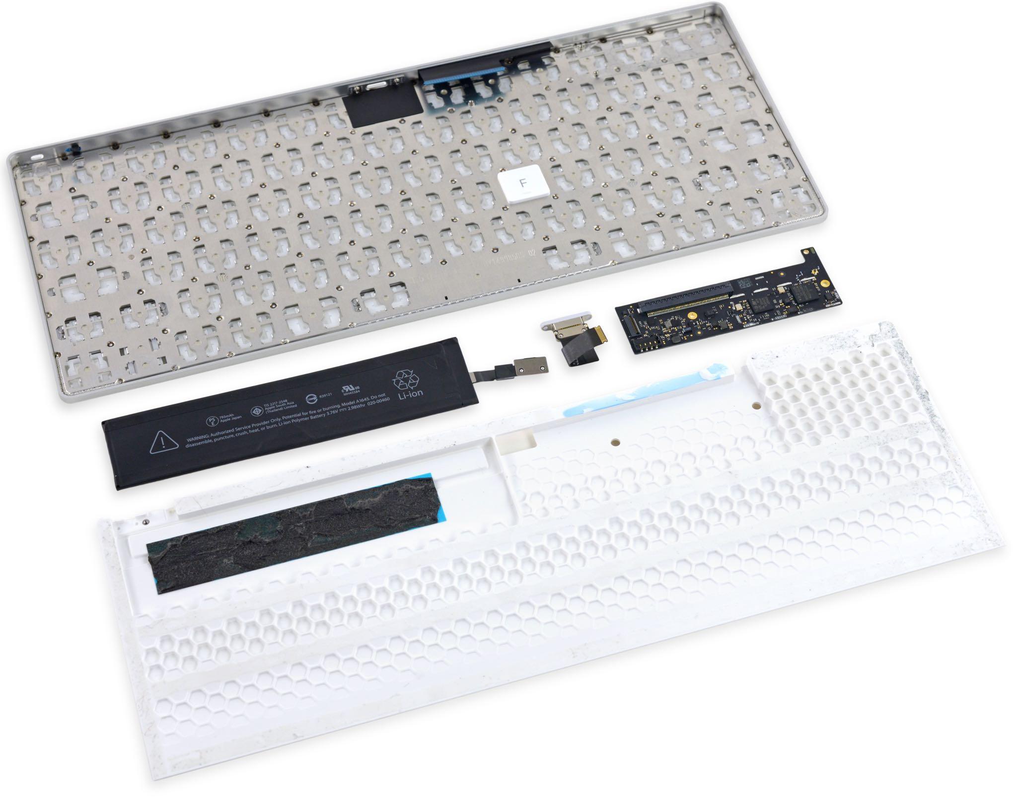Magic Mouse Keyboard teardown iFixit 004