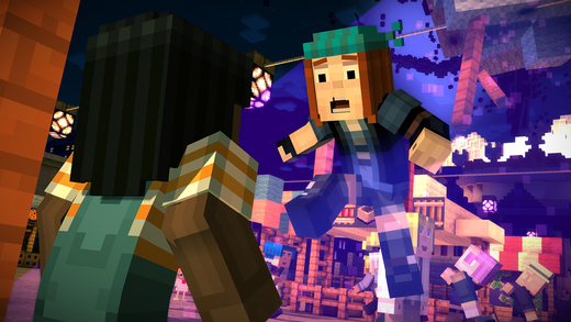 Minecraft Story Mode 1.0 for iOS iPhone screenshot 001