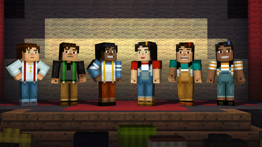 Minecraft Story Mode 1.0 for iOS iPhone screenshot 002