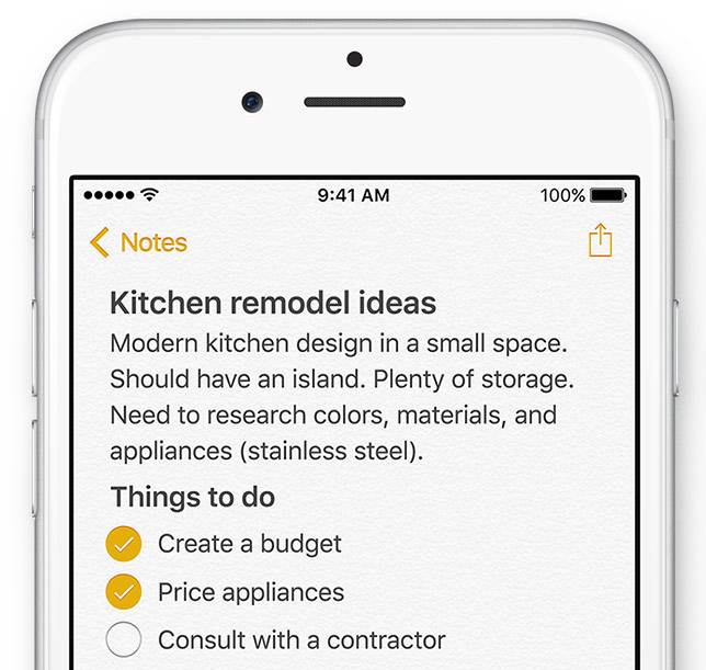 How to create shopping lists, to-dos and other checklists in Notes app
