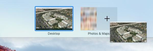 OS X El Capitan Mission Control Split View Mac screenshot 004