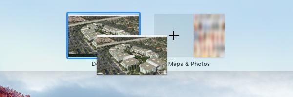 OS X El Capitan Mission Control Split View Mac screenshot 005