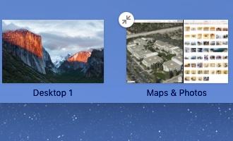 OS X El Capitan Mission Control Split View Mac screenshot 009