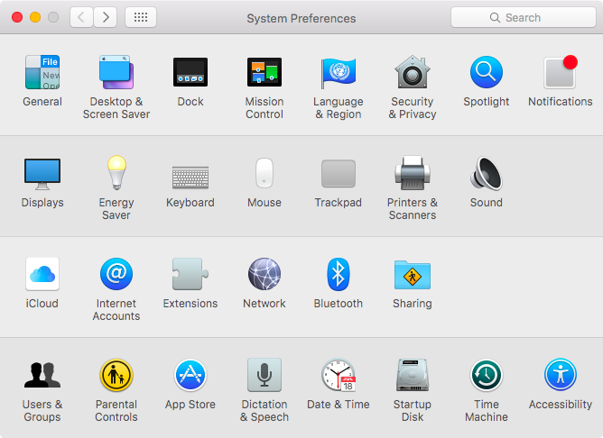 OS X El Capitan System Preferences customize Mac screenshot 002