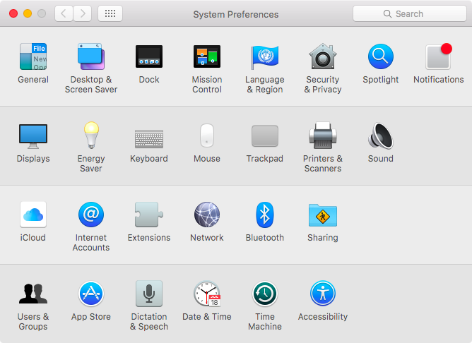 OS X El Capitan System Preferences customize Mac screenshot 004