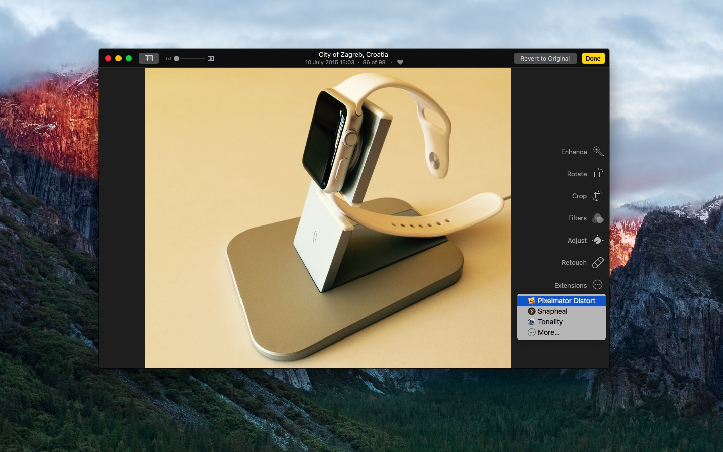 Pixelmator 3.4 for Mac Photos extension Mac screenshot 002