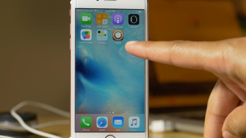 Preparing FileSystem Cydia SPeed iPhone 6s