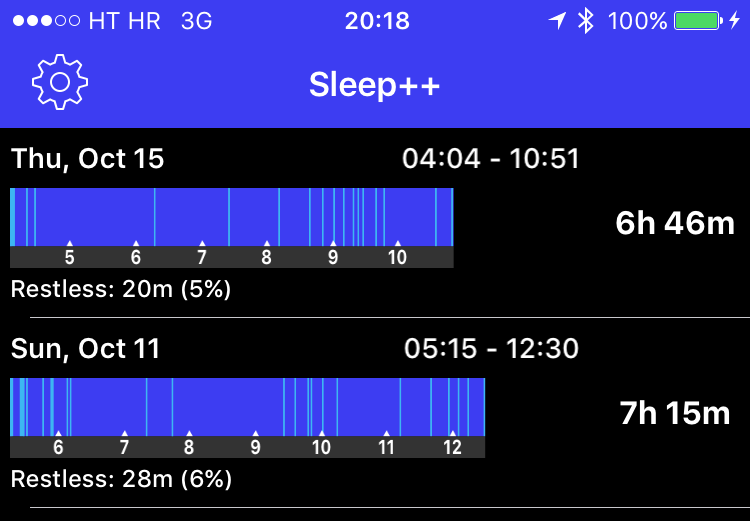 Sleep Plus for iOS iPhone screenshot 001