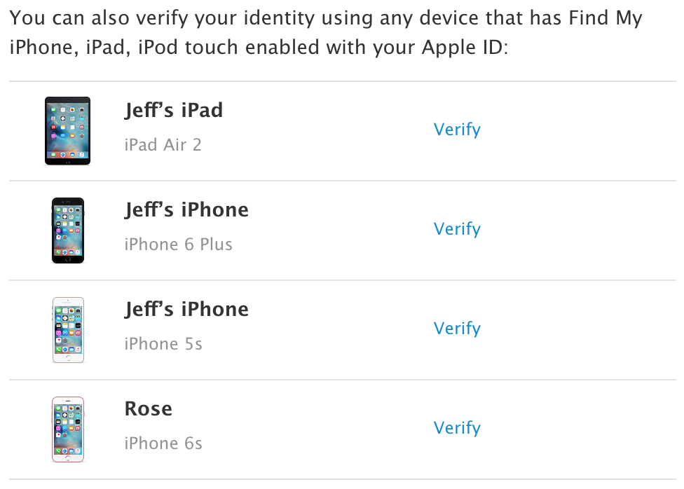 remove device from icloud using find my iphone app