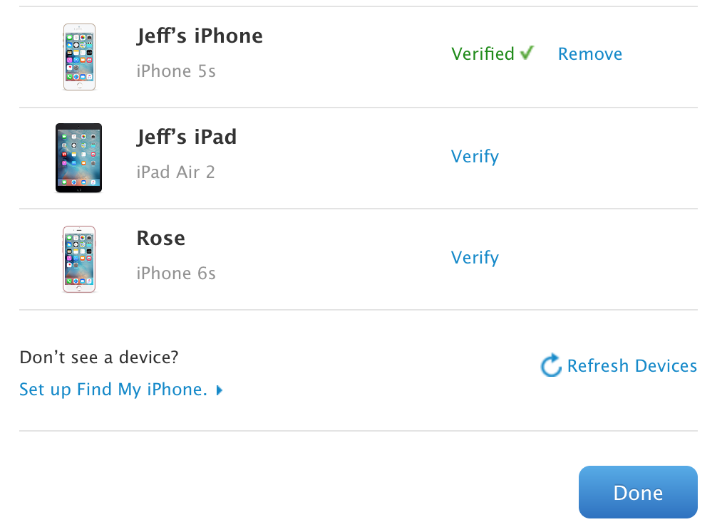 How to reset apple id on ipad air 2