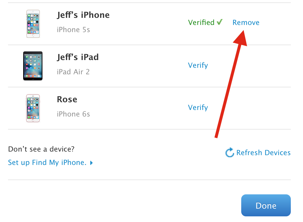 multiple apple ids on iphone how to add and remove trusted devices for apple id two 17821