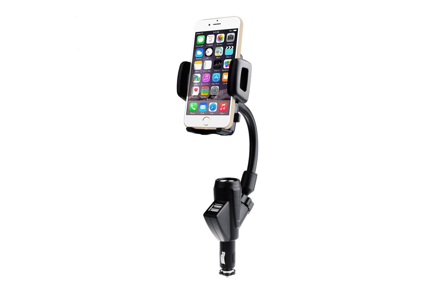 VicTsing Dual USB Car Charger Mount