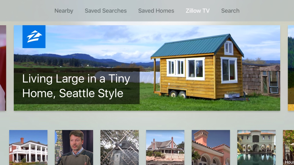 Zillow for Apple TV screenshot 001