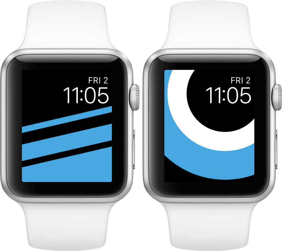 Apple Faces: a website for Apple Watch wallpapers