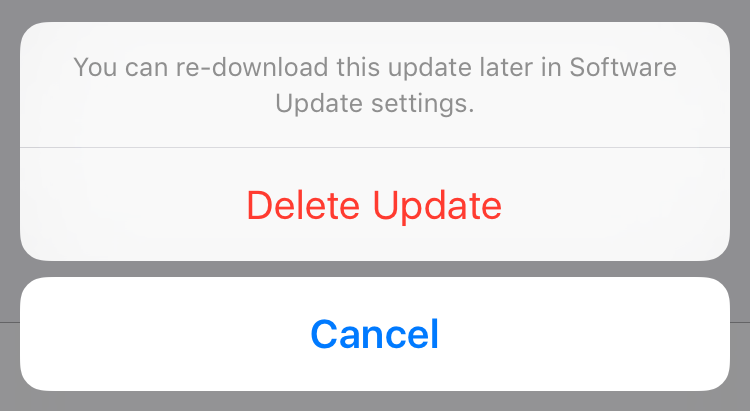 How to remove a software update download from your iPhone or iPad