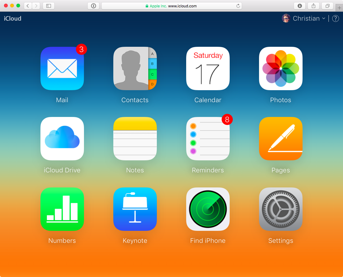 iCloud Notes web screenshot 001