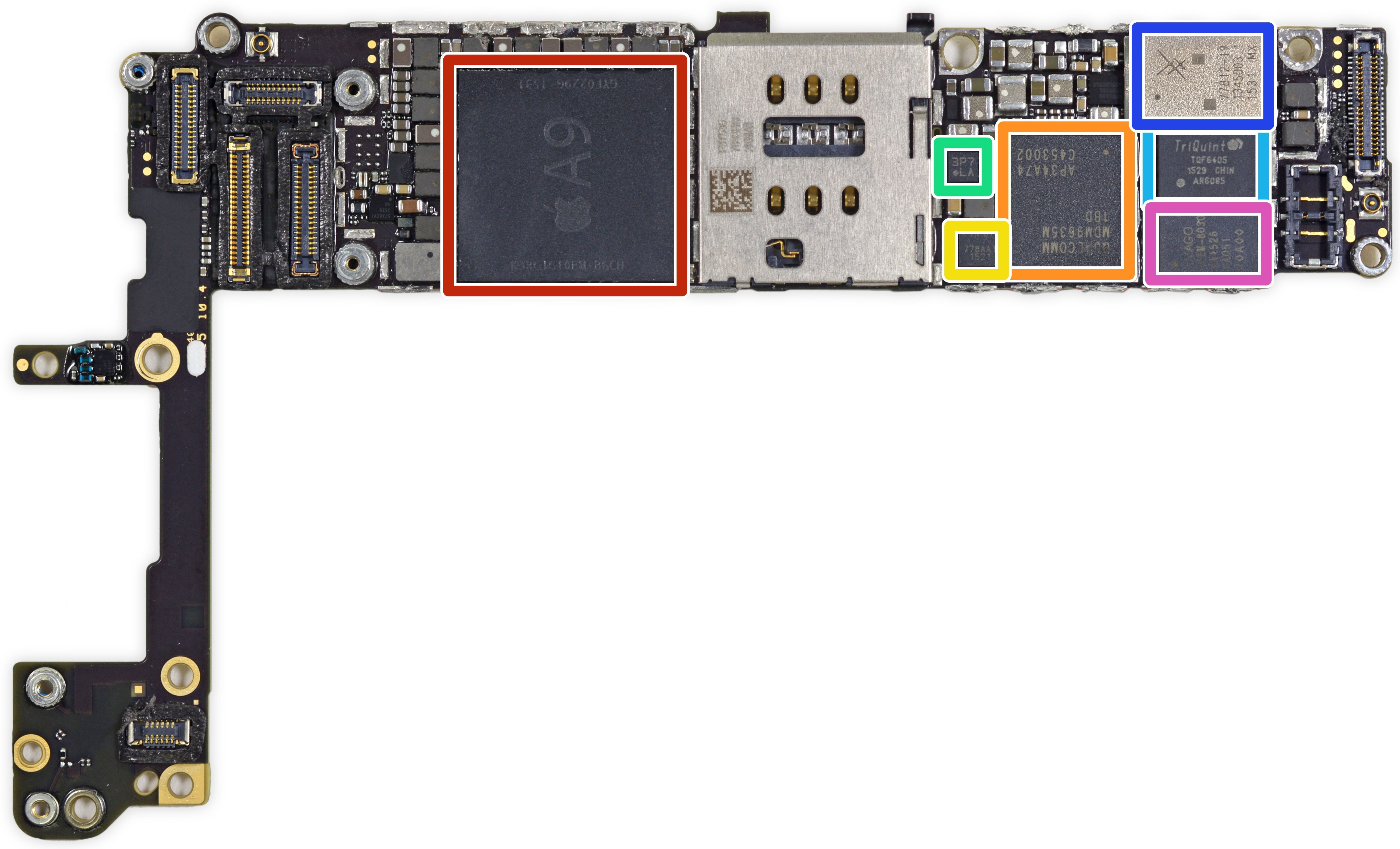 iPhone 6s teardown iFixit 010