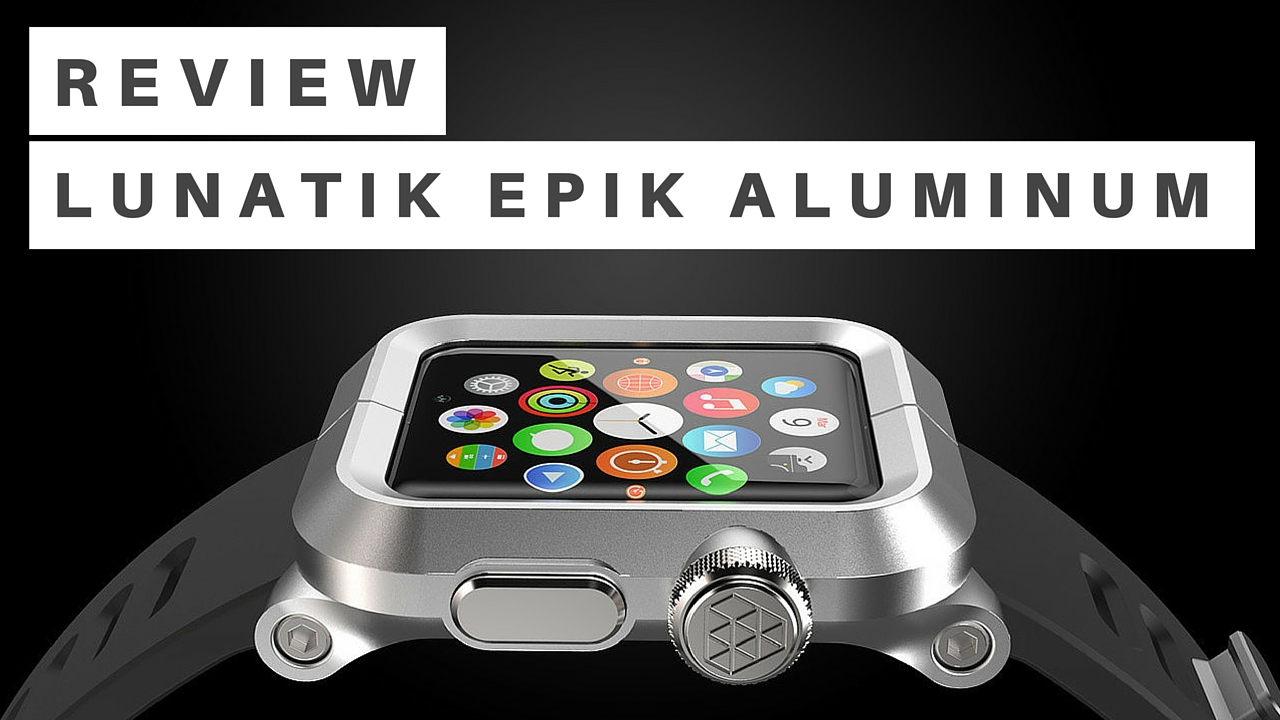 pretty nice 9490b e1f31 LUNATIK EPIK Apple Watch Kit offers rugged protection in a handsome ...