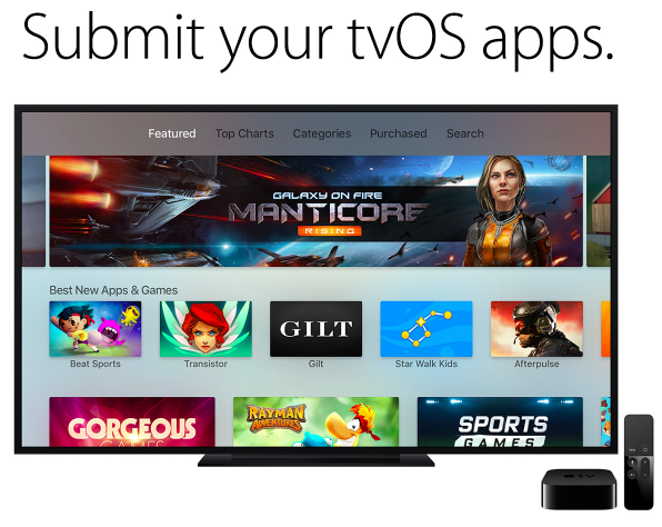 submit tvos apps