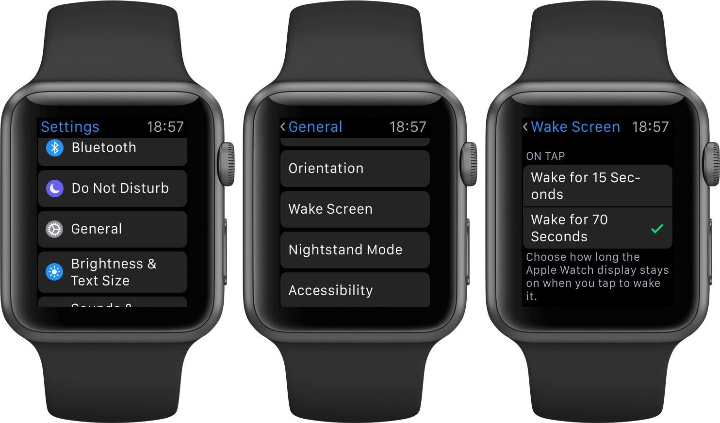 watchOS 2 Wake Screen Apple Watch screenshot 001