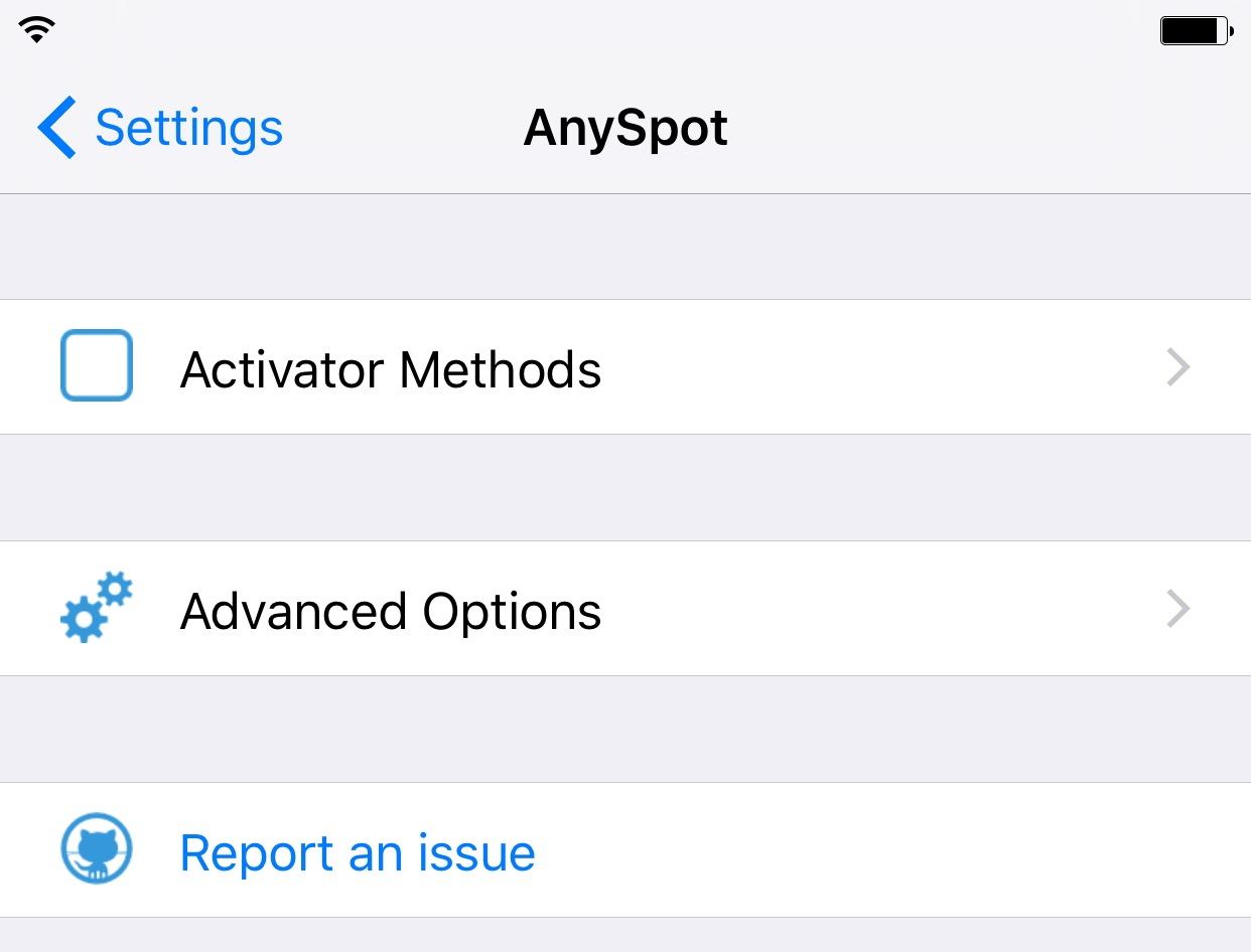 Any spot iOS 9