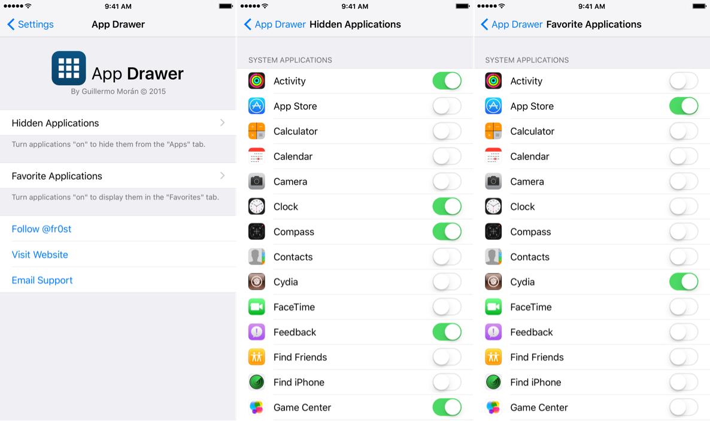 App Drawer 2