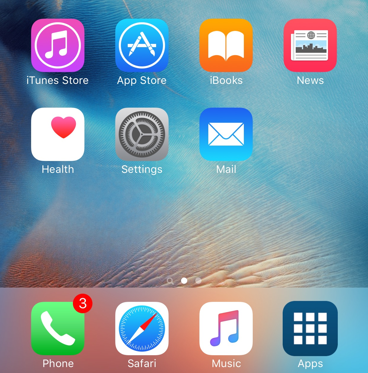 App drawer dock
