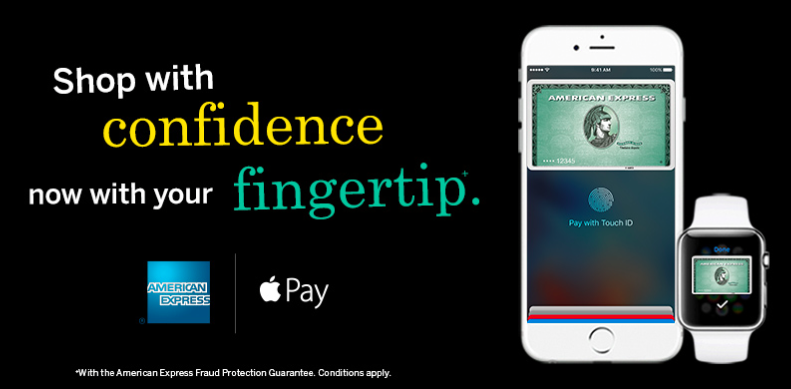 Apple Pay American Express Canada teaser 001