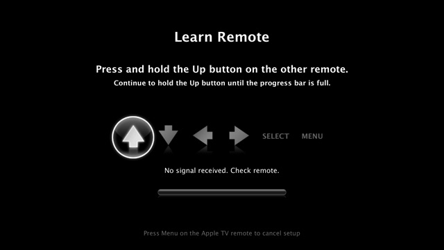 Apple TV Learn Remote screenshot 001