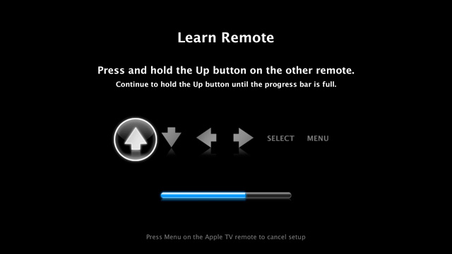 Apple TV: Learn Remote Signal