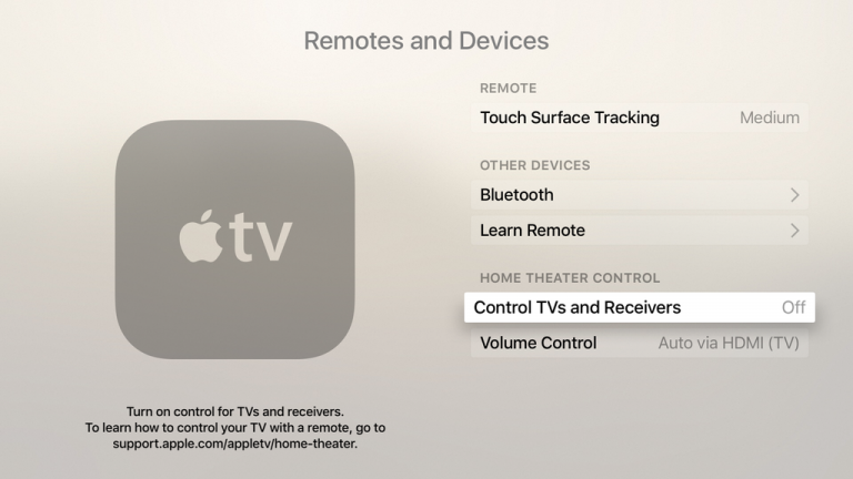 Problem with HDMI-CEC and LG TV : appletv