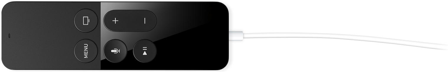 Apple TV fourth generation Siri Remote charging