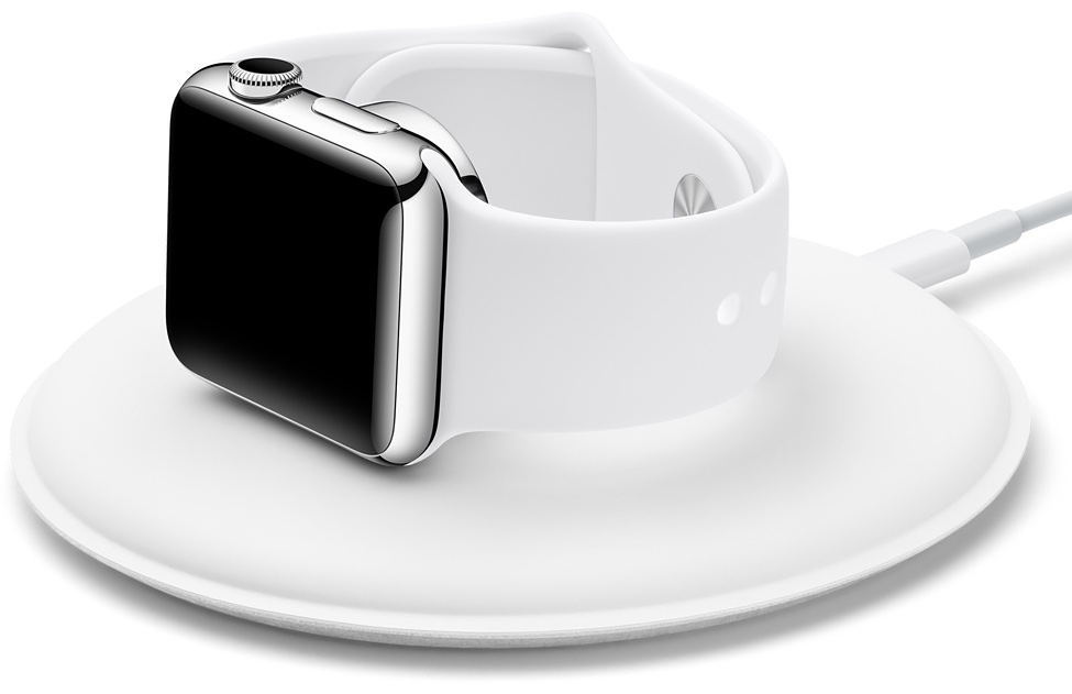 Apple Watch Magnetic Charging Dock white image 001