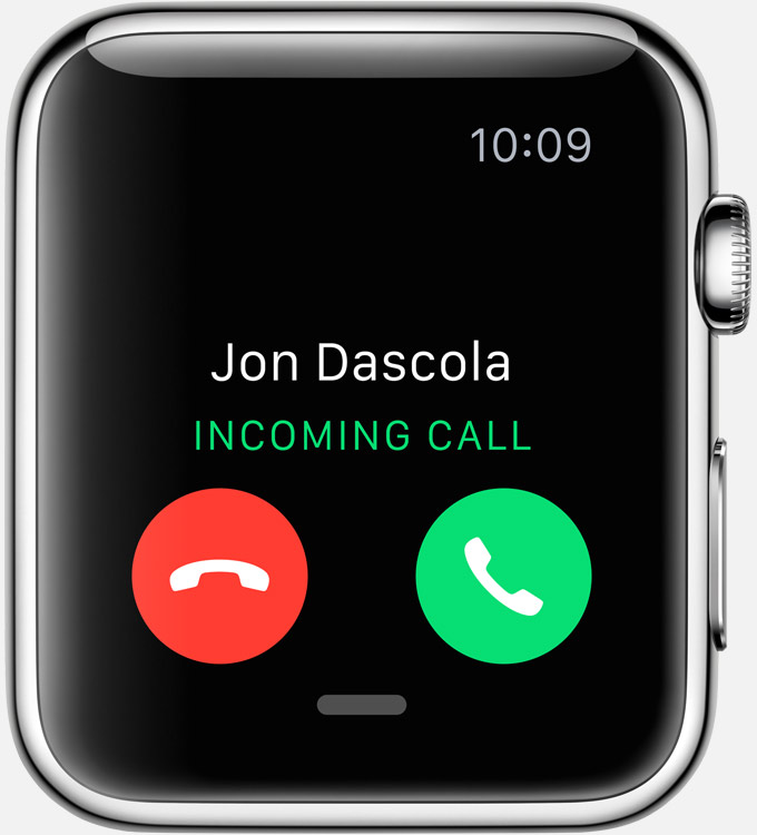 Apple Watch Phone call notification image 001