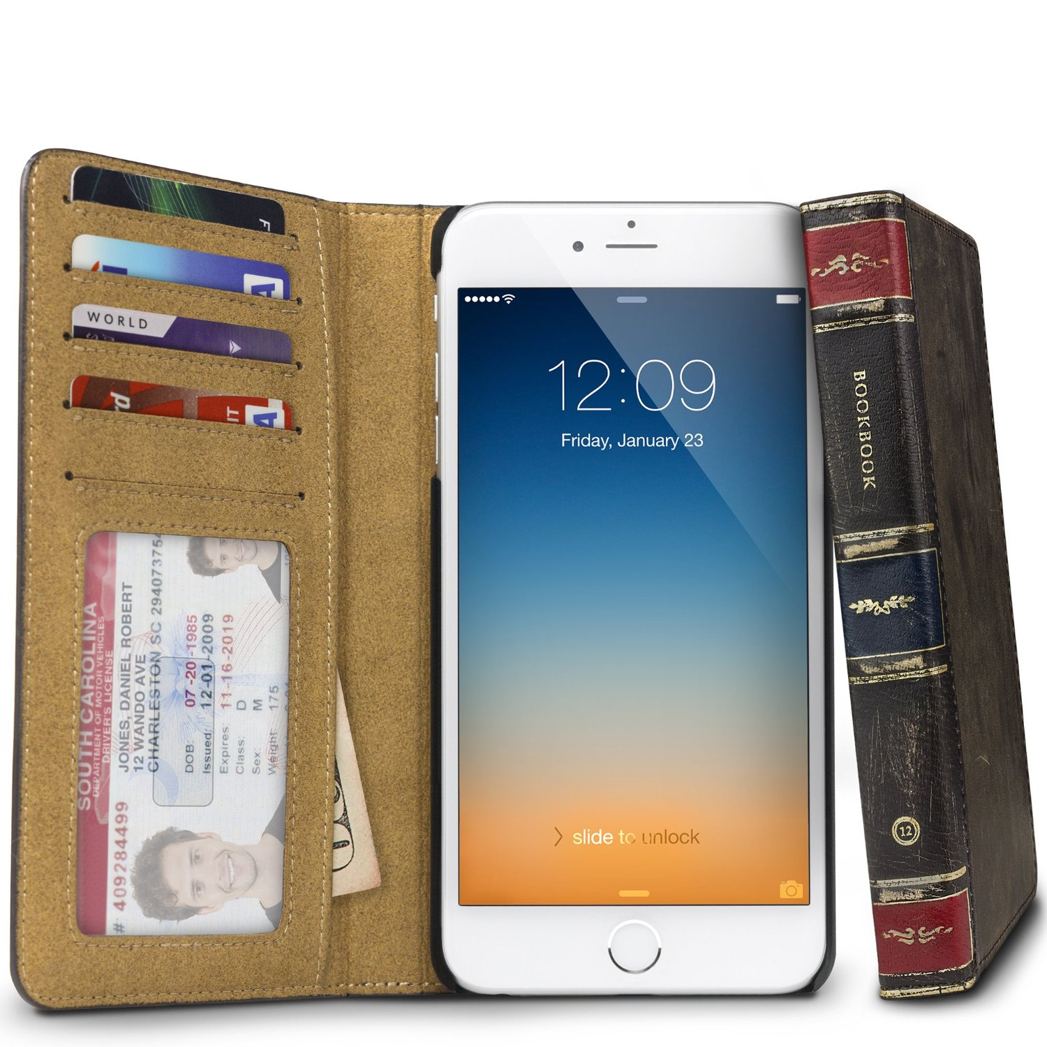 release date 8e86e 03965 The BookBook for iPhone 6s case is not just for the literary types
