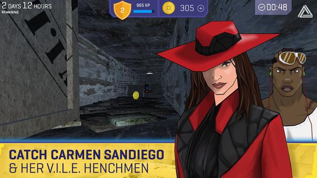 Carmen Sandiego regresa