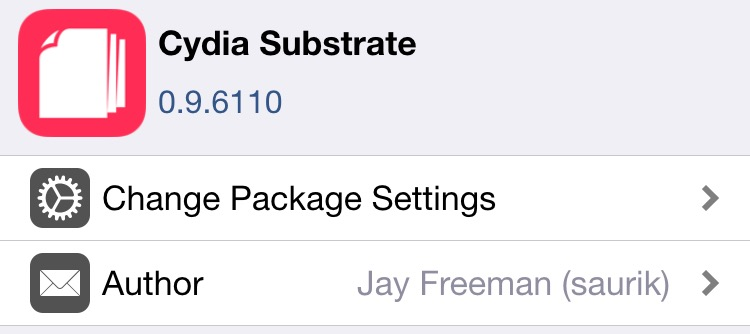 Cydia substrate update 2