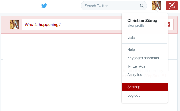 Delete Twitter account web screenshot 002