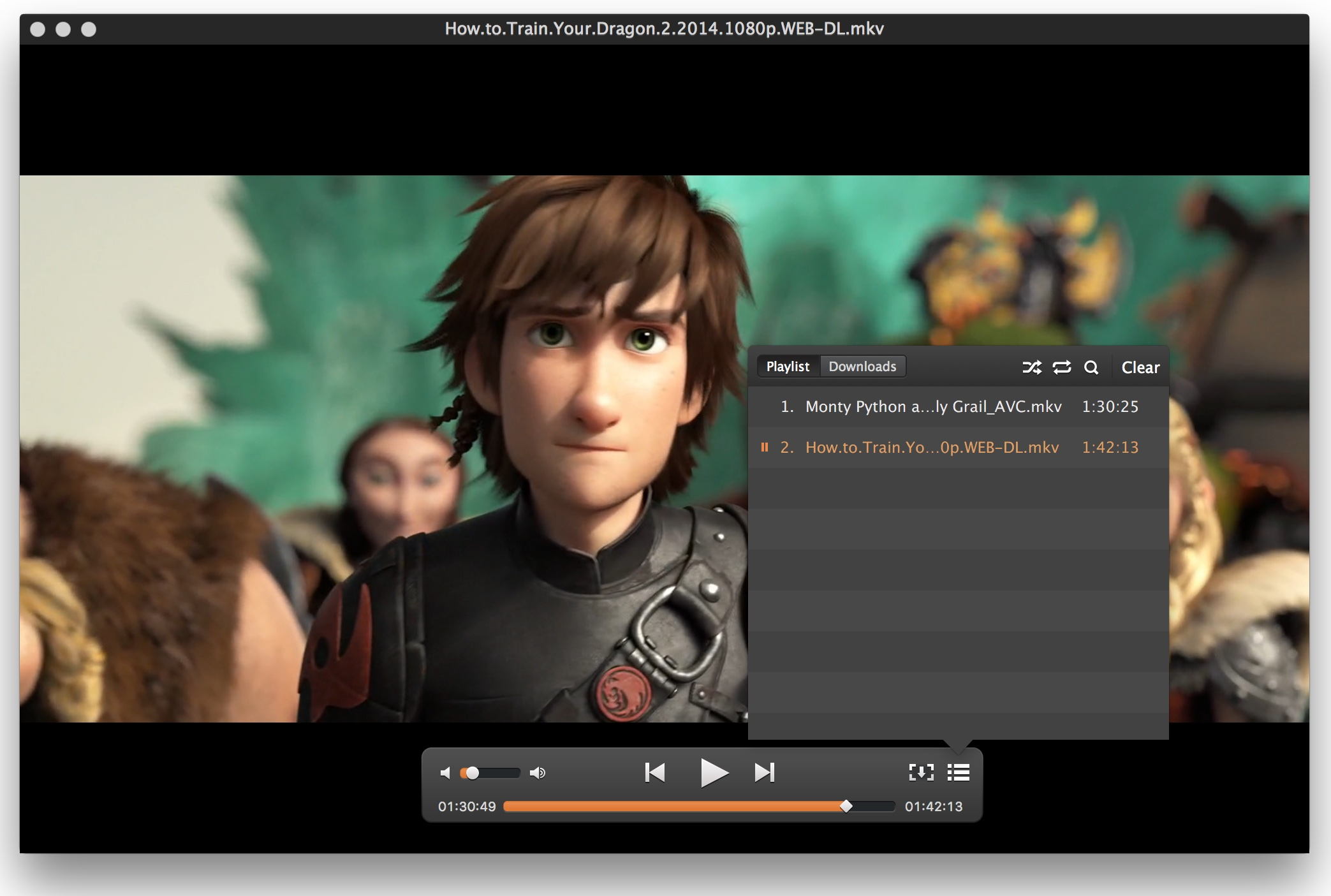 Elmedia Player Pro for OS X Mac screenshot 001