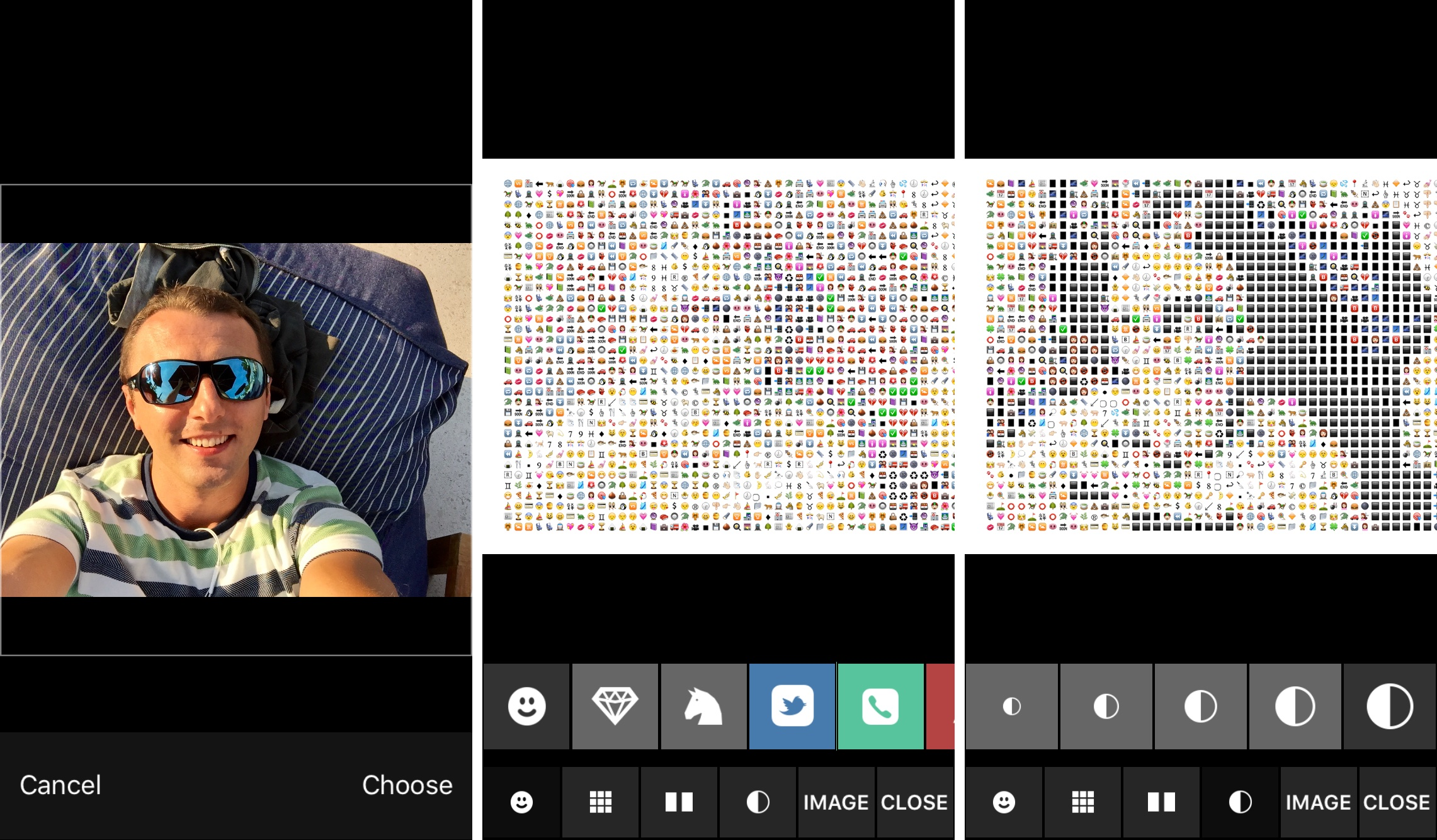 Review: Emojify turns your photos into emoji artwork, ASCII