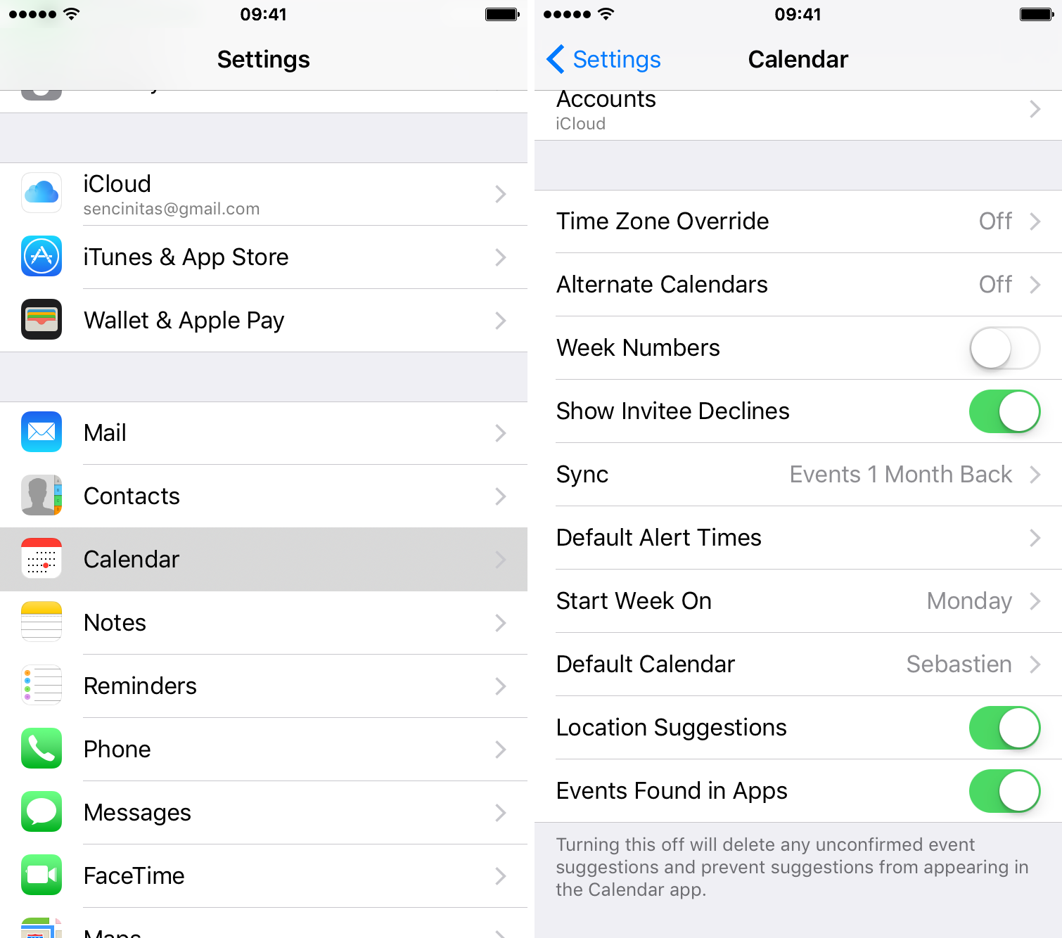 Calendrier Switch.How To Disable Suggested Events In Calendar On Ios And Mac