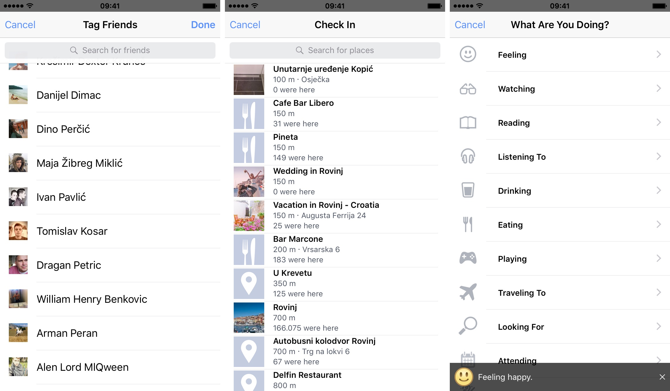 Facebook new Share sheet design iPhone screenshot 003