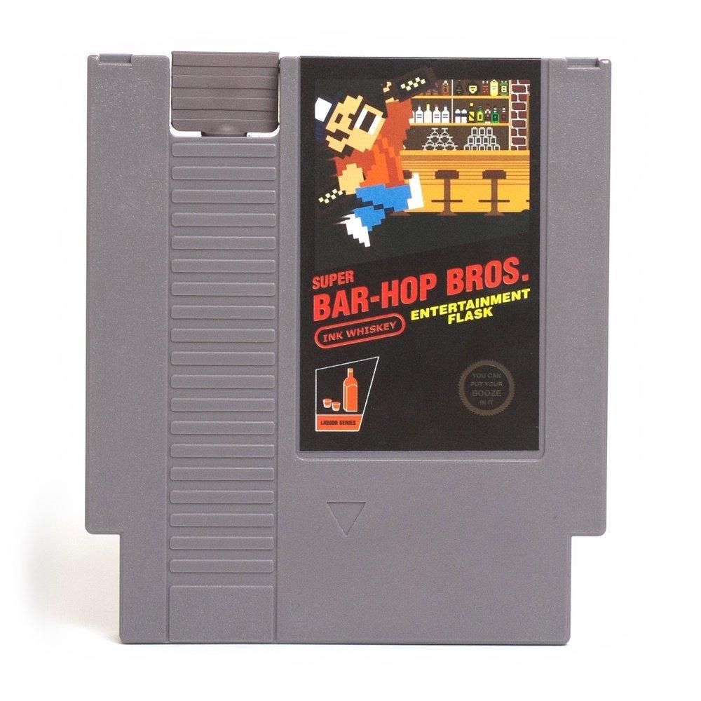 Game Cartridge flask