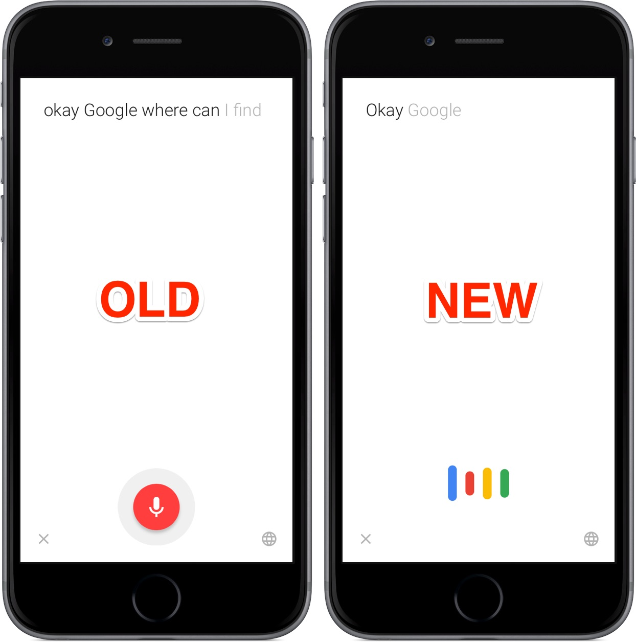 Official Google app revamps voice search interface and Google Now cards